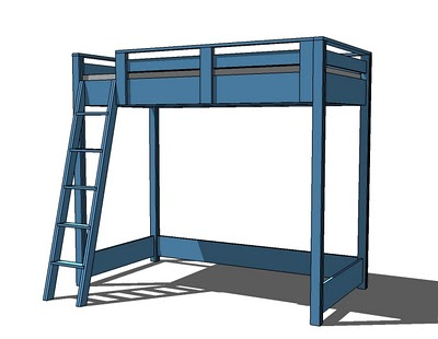 Loft Bed Plan